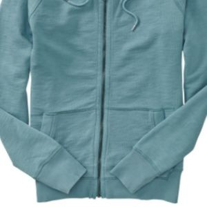 GAP Jackets & Coats - GAP Lived In Blue Zip Up Hoodie